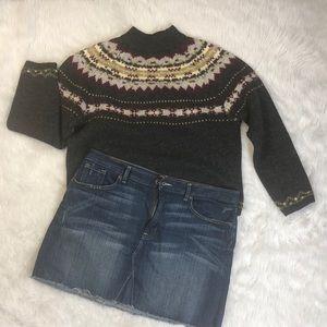 Gap denim distressed  mini skirt 16